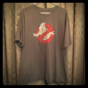 Classic Ghostbusters grey t-shirt